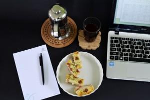 Macaroni schotel sebagai menu coffee break