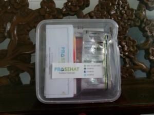 Obat pesanan dari ProSehat sudah tiba.