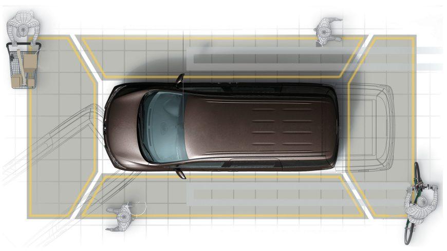 Adanya monitor yang memberikan gambaran mengenal situasi sekitar mobil, plus sistem pembimbing untuk parkir, memberikan nilai plus untuk sebuah mobil premium. Gambar diambil dari sini.