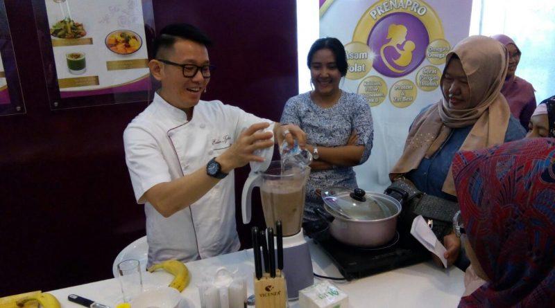 Prenagen susu hamil booth Nutrisi Sehat Vicky Laurentina