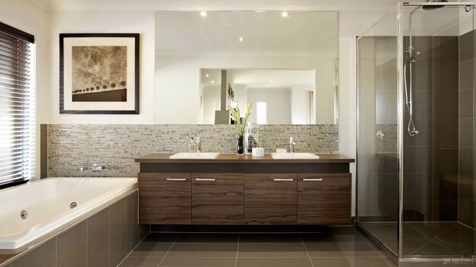 kamar mandi minimalis interior rumaj