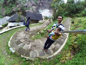 Candi Gedong Songo outbound training