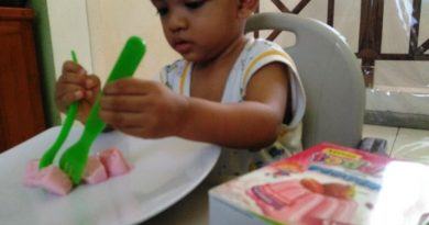 MP-ASI bayi belajar makan