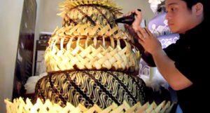 kue batik Indonesia
