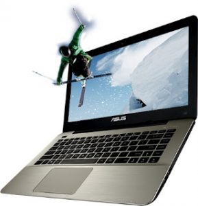 model laptop Asus A455LB Asus core i5