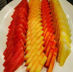 Apakah buah itu makanan pembuka atau makanan penutup?