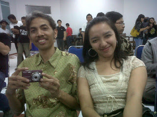 Vicky Laurentina with Hedi Novianto
