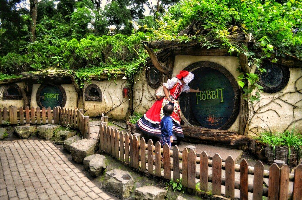 Rumah Hobbit di Bandung