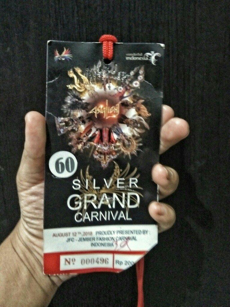 Tiket Jember Fashion Carnaval 2018