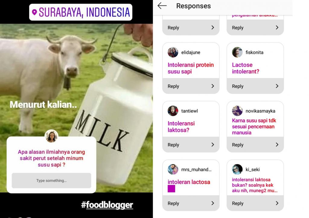 Alasan orang menolak susu sapi