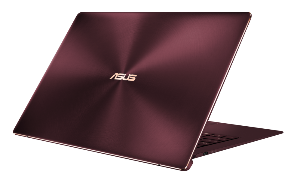 Laptop Asus Zenbook S UX391UA warna burgundy red