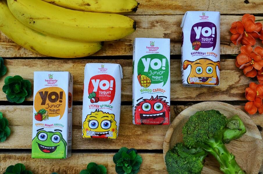 Merk yogurt anak untuk minuman berserat.