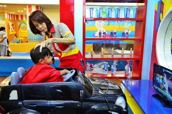 salon khusus anak di Surabaya