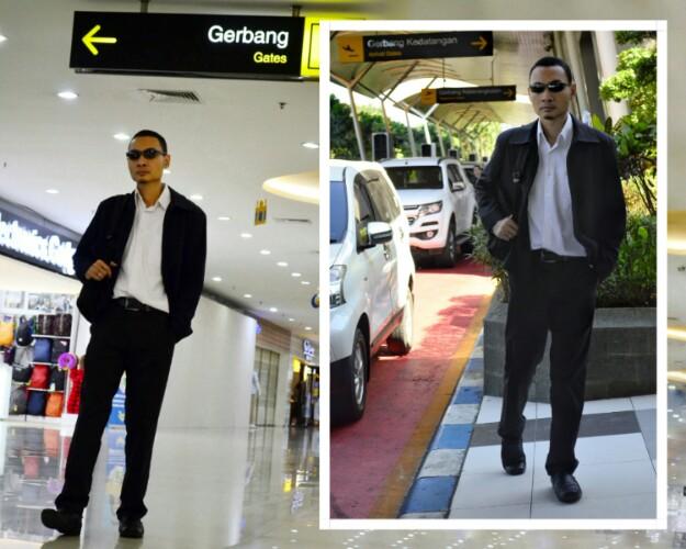 style hitam putih monokrom untuk pria