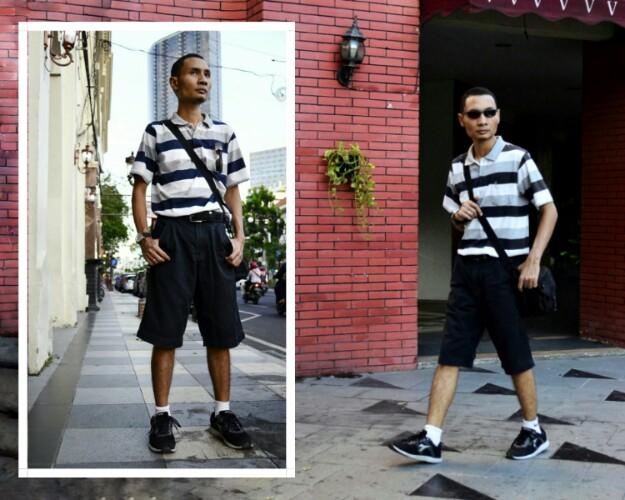 Style hitam putih untuk gaya berpakaian pria keren