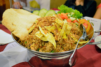 Nasi goreng jancuk, kuliner Surabaya Eddy Fahmi
