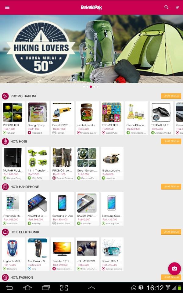 Belanja online di Bukalapak 1