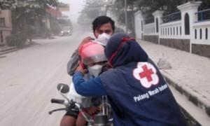 Bulan dana PMI bencana masker