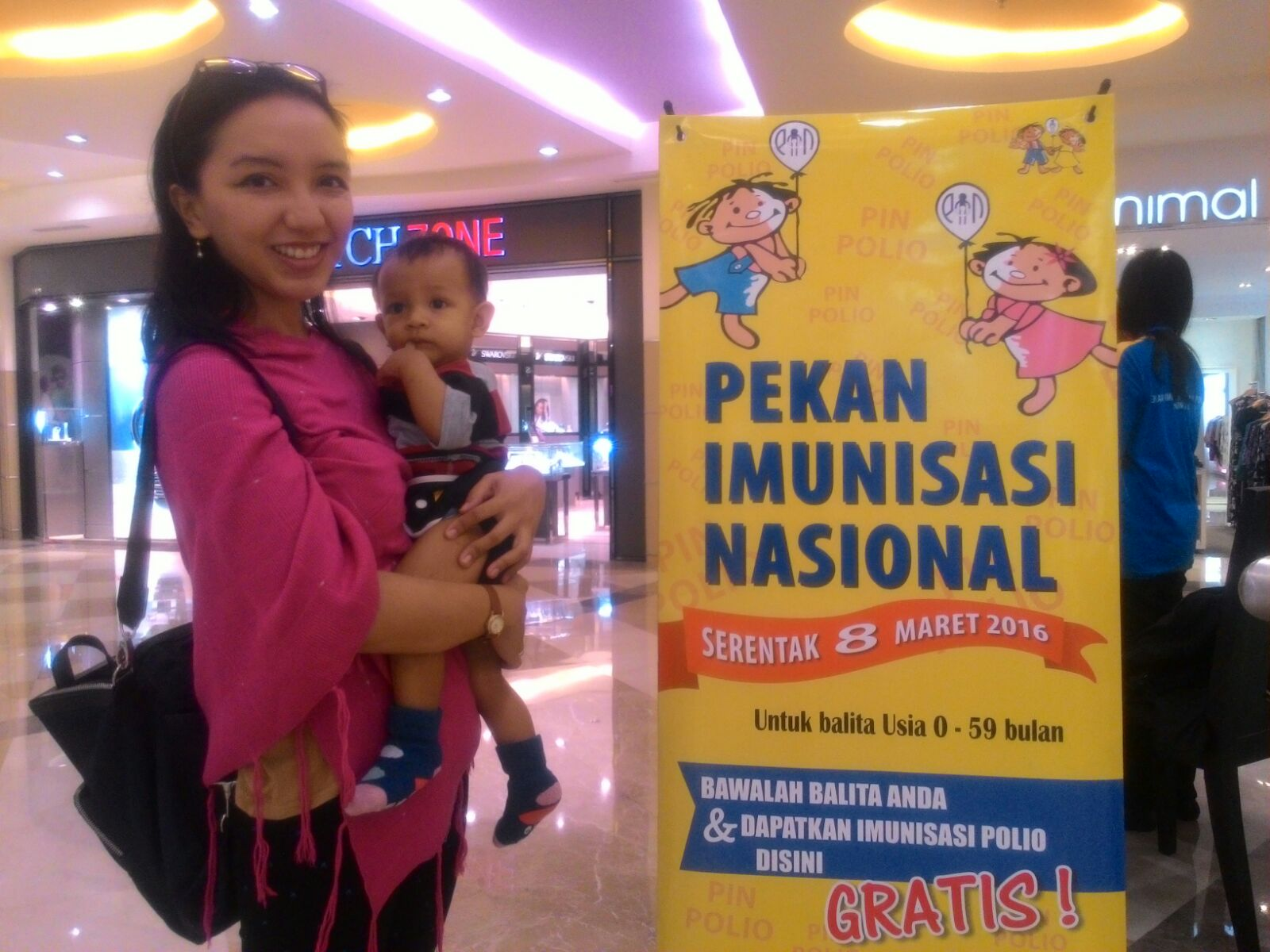 Pekan imunisasi Nasional vaksin polio