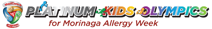 Morinaga Allergy Week Platinum Kids Olympics