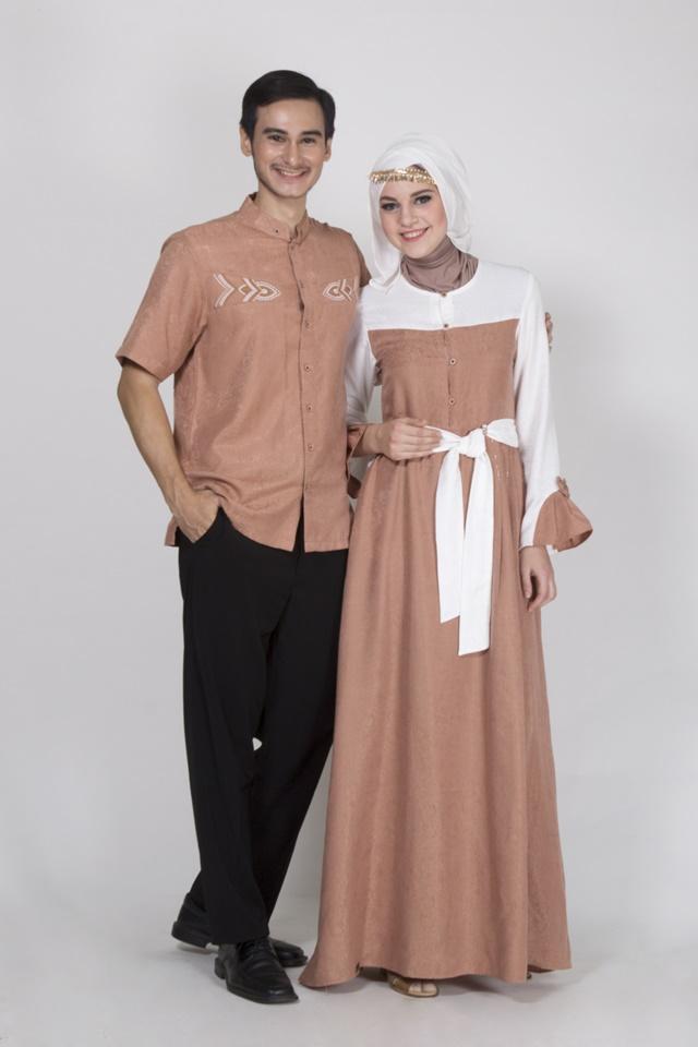 Baju couple keluarga busana muslim 2018 fashion muslim baju sarimbit 2018 busana muslim terbaru