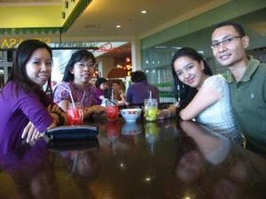 Vicky Laurentina with Jessie Monika + Fanda Amnesiana