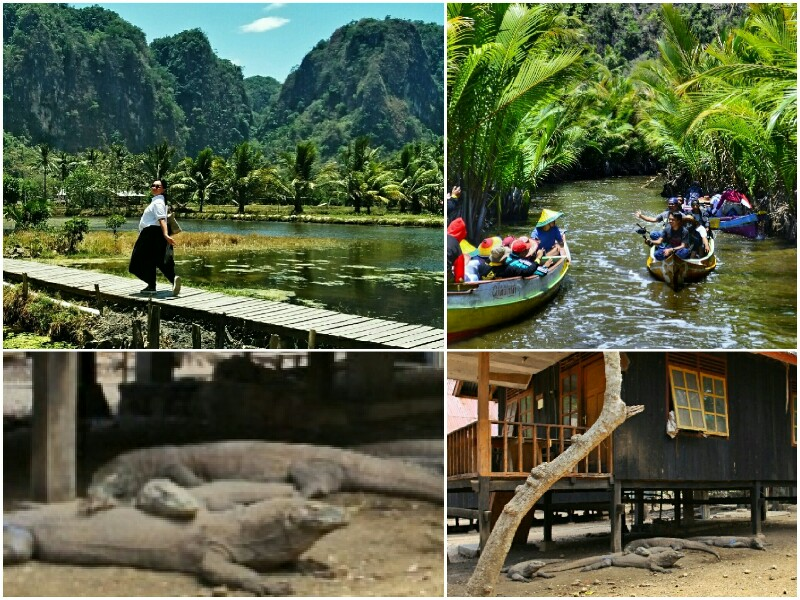 Wonderful Indonesia: Rammang Rammang Maros and Komodo Island