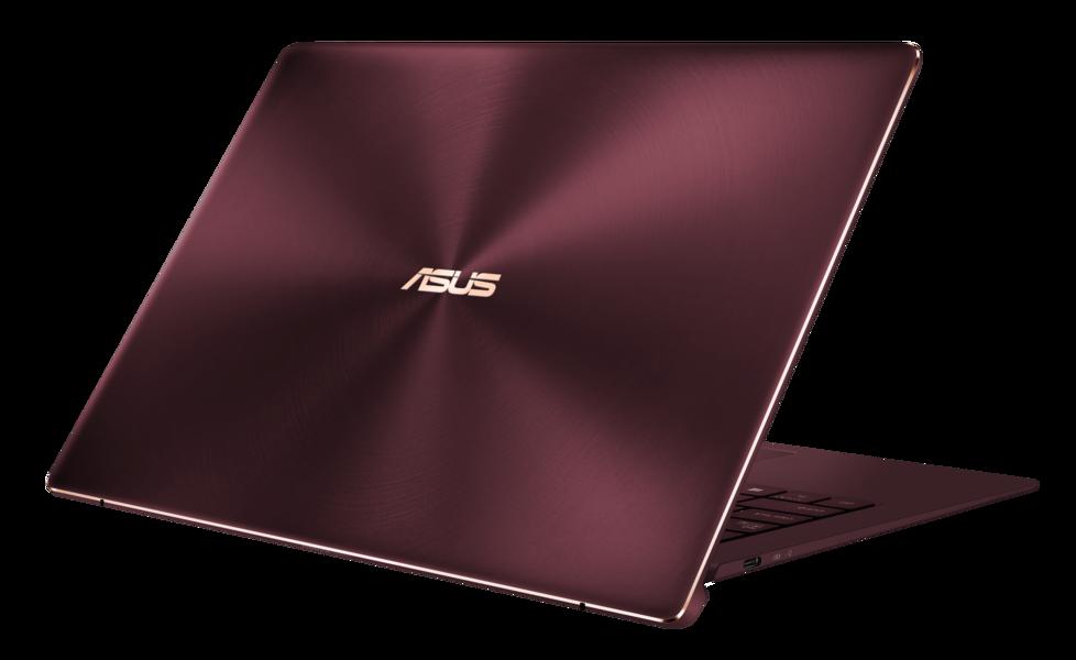 Laptop Asus Zenbook S UX391UA warna burgundy red