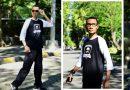 style hitam putih Mr Brank untuk gaya pakaian pria cool
